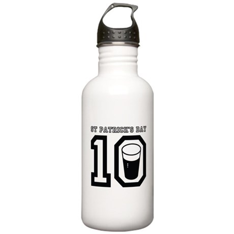 St Patrick's Day 2010 Stainless Water Bottle 1.0L
