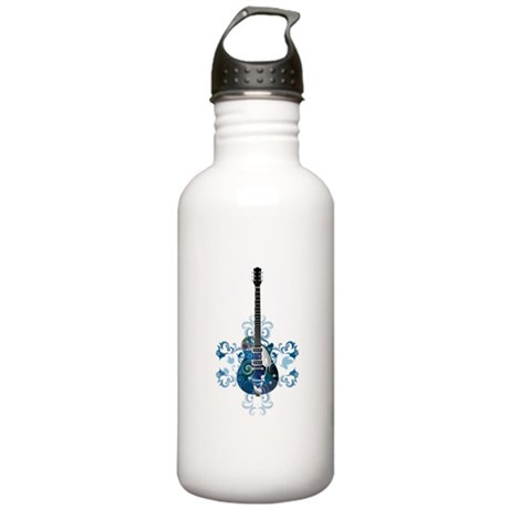 Guitar Stainless Water Bottle 1.0L
