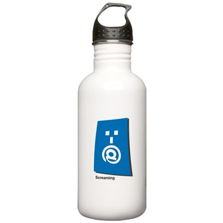 screaming Stainless Water Bottle 1.0L