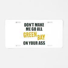 Green Bay Football Aluminum License Plate