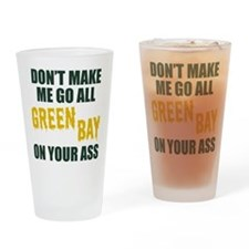 Green Bay Football Drinking Glass