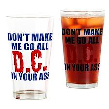 Washington Baseball Drinking Glass