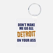 Detroit Baseball Keychains