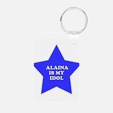 Alaina Is My Idol Keychains