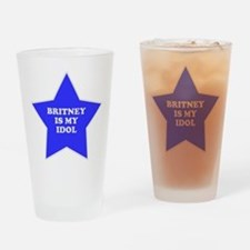Britney Is My Idol Pint Glass