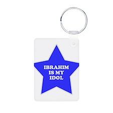 Ibrahim Is My Idol Keychains