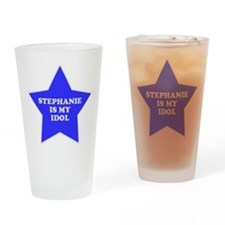Stephanie Is My Idol Pint Glass