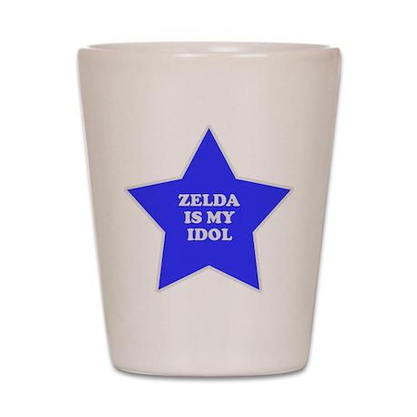 Zelda Is My Idol Shot Glass