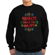 Monkey Happiness Sweatshirt
