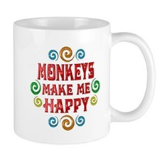 Monkey Happiness Mug