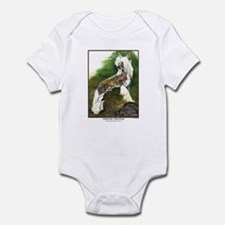Chinese Crested Painting Infant Creeper