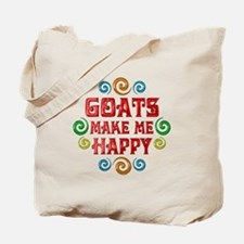Goat Happiness Tote Bag