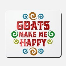 Goat Happiness Mousepad