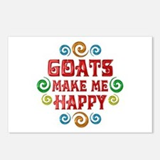 Goat Happiness Postcards (Package of 8)