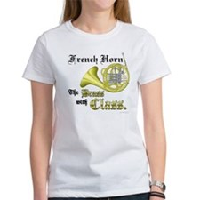 French Horn- The Brass with Class Tee