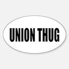 UNION THUG: Decal