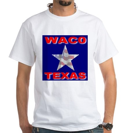 Waco Texas White T-Shirt