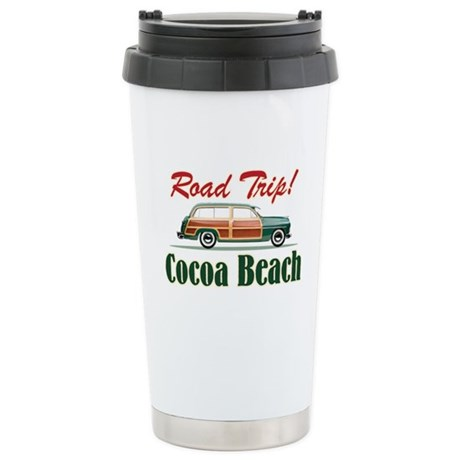 Cocoa Beach Road Trip - Stainless Steel Travel Mug