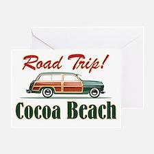 Cocoa Beach Road Trip - Greeting Card