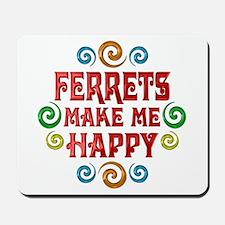 Ferret Happiness Mousepad