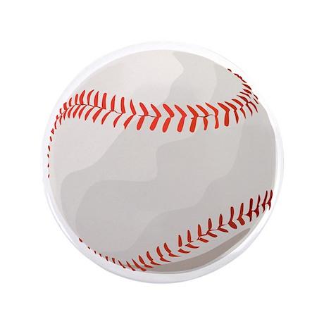 "Baseball Symbol 3.5"" Button (100 pack)"