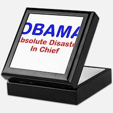 OBAMA - Absolute Disaster In Keepsake Box