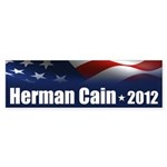 Herman Cain 2012 Sticker (Bumper 50 pk)
