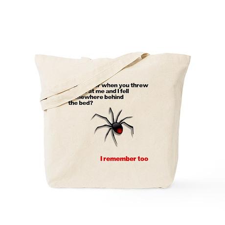 Spider's Revenge Shirt Tote Bag