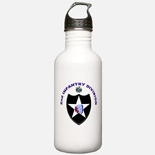 US Army 2nd Infantry Division Water Bottle