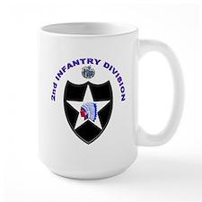 US Army 2nd Infantry Division Mug