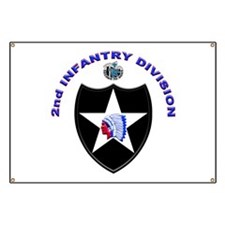 US Army 2nd Infantry Division Banner