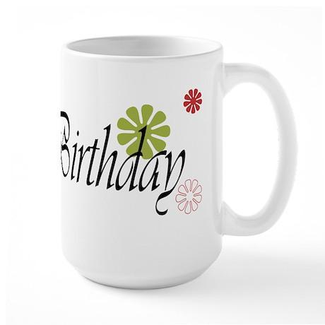 30th Birthday Large Mug