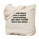 Social Networking Site That W Tote Bag