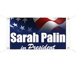 Sarah Palin 2012 Banner