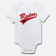 Rodeo (red) Infant Creeper