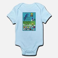 Unique Running in the usa race results clubs Infant Bodysuit