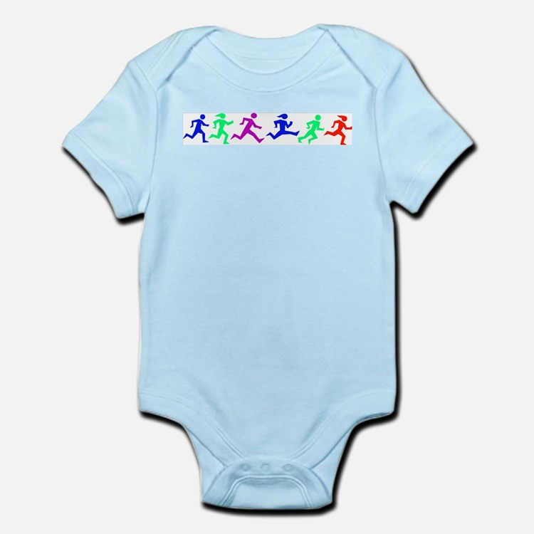 Cute Running in the usa race results clubs Infant Bodysuit