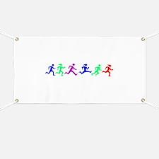 Cute Running Banner