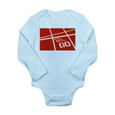 Cute Running usa race results clubs Long Sleeve Infant Bodysuit