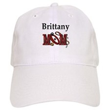 Brittany Spaniel Mom Baseball Cap