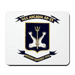 USS ARCADIA Mousepad