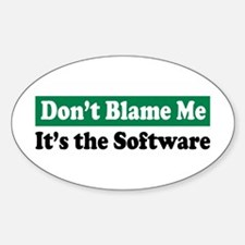 Its the Software Oval Decal