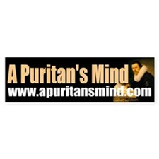 A Puritan's Mind Logo Bumper Sticker