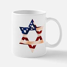 PatrioticStarOfDavid Mugs