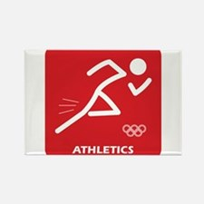 Cool Running in the usa race results clubs Rectangle Magnet (10 pack)