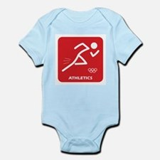 Funny Running in the usa race results clubs Infant Bodysuit