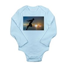 Cool Running usa race results clubs Long Sleeve Infant Bodysuit