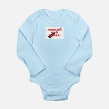 Paddlers-Do-It-Deeper Long Sleeve Infant Bodysuit