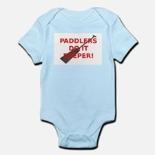 Paddlers-Do-It-Deeper Infant Bodysuit