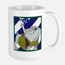 "Rocky Bulldog ""V"" for Victory Large Mug"